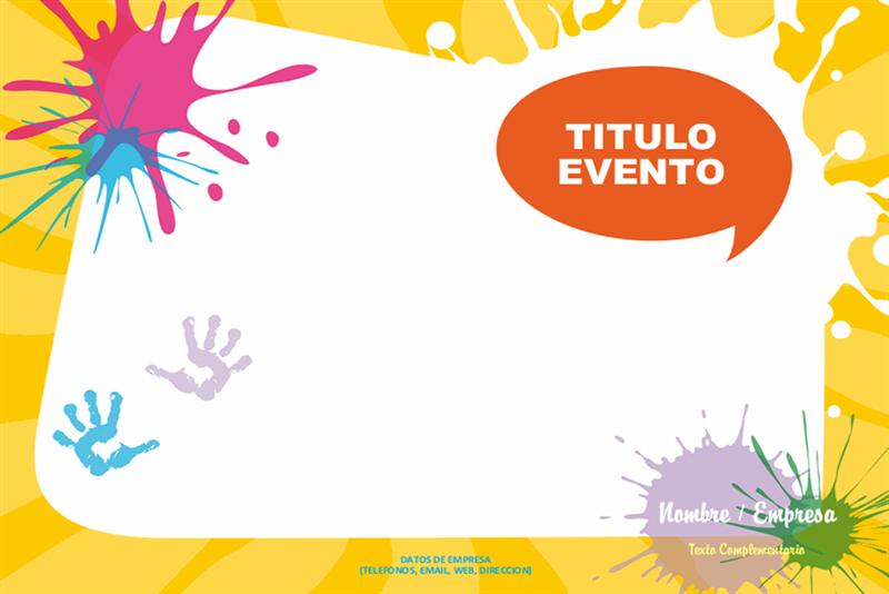 Imprimir barato cartel educación infantil A3 - Printadera.es