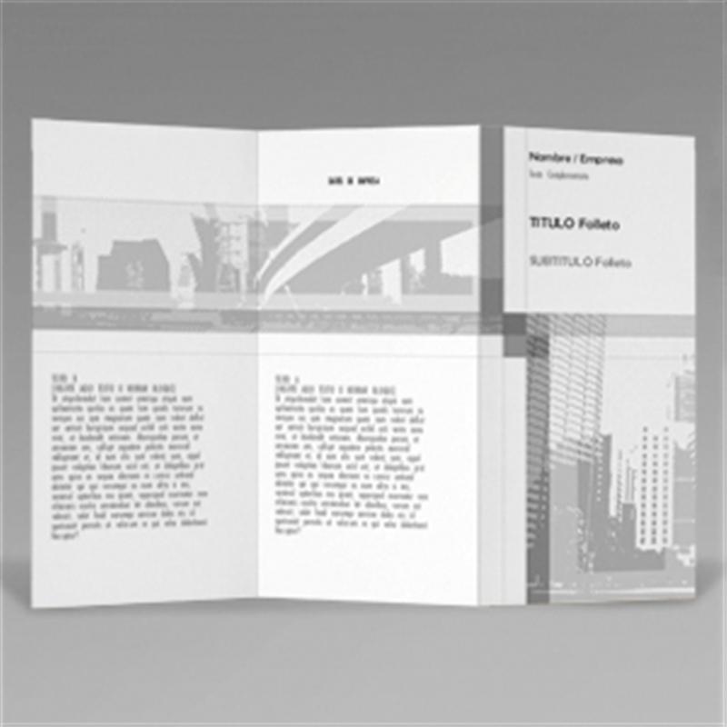 Tr ptico arquitectura tramas for Arquitectura online gratis