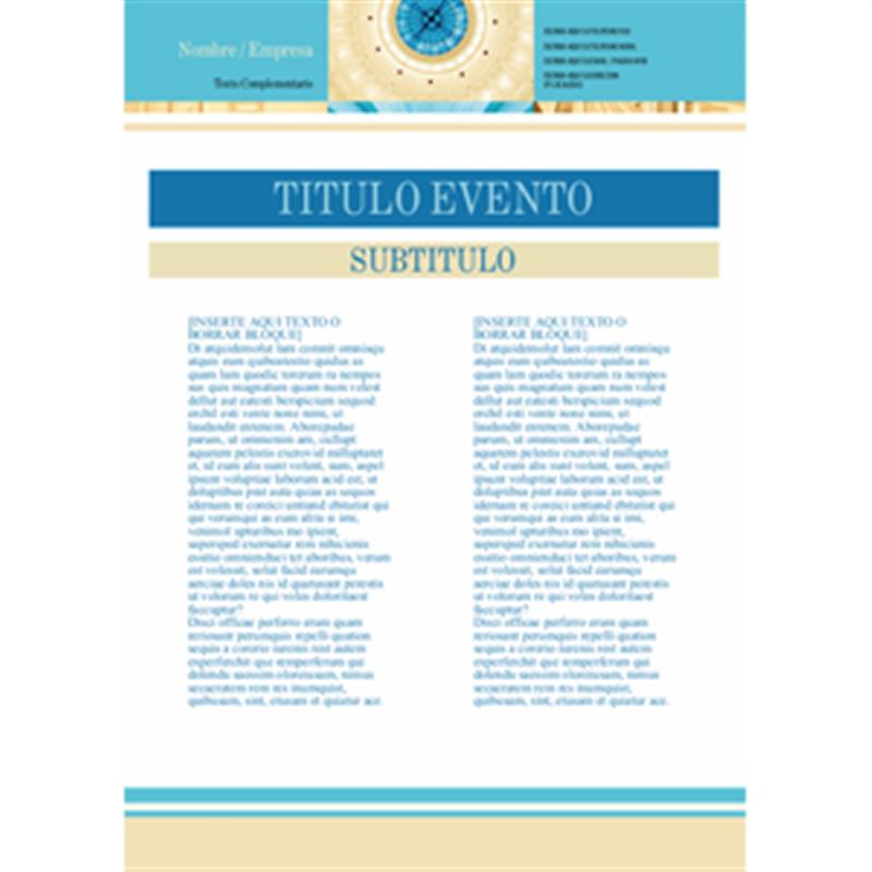 Cartel arquitectura celeste a3 for Arquitectura online gratis